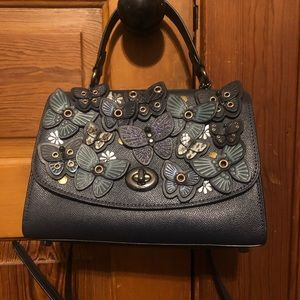 Coach Special Tilly Top Handle Butterfly Bag